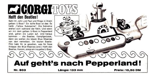 Corgitoys_Pepperland_1969