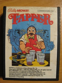 Tapper_C64_Retroport