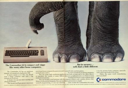 Werbung_C64_Elephant