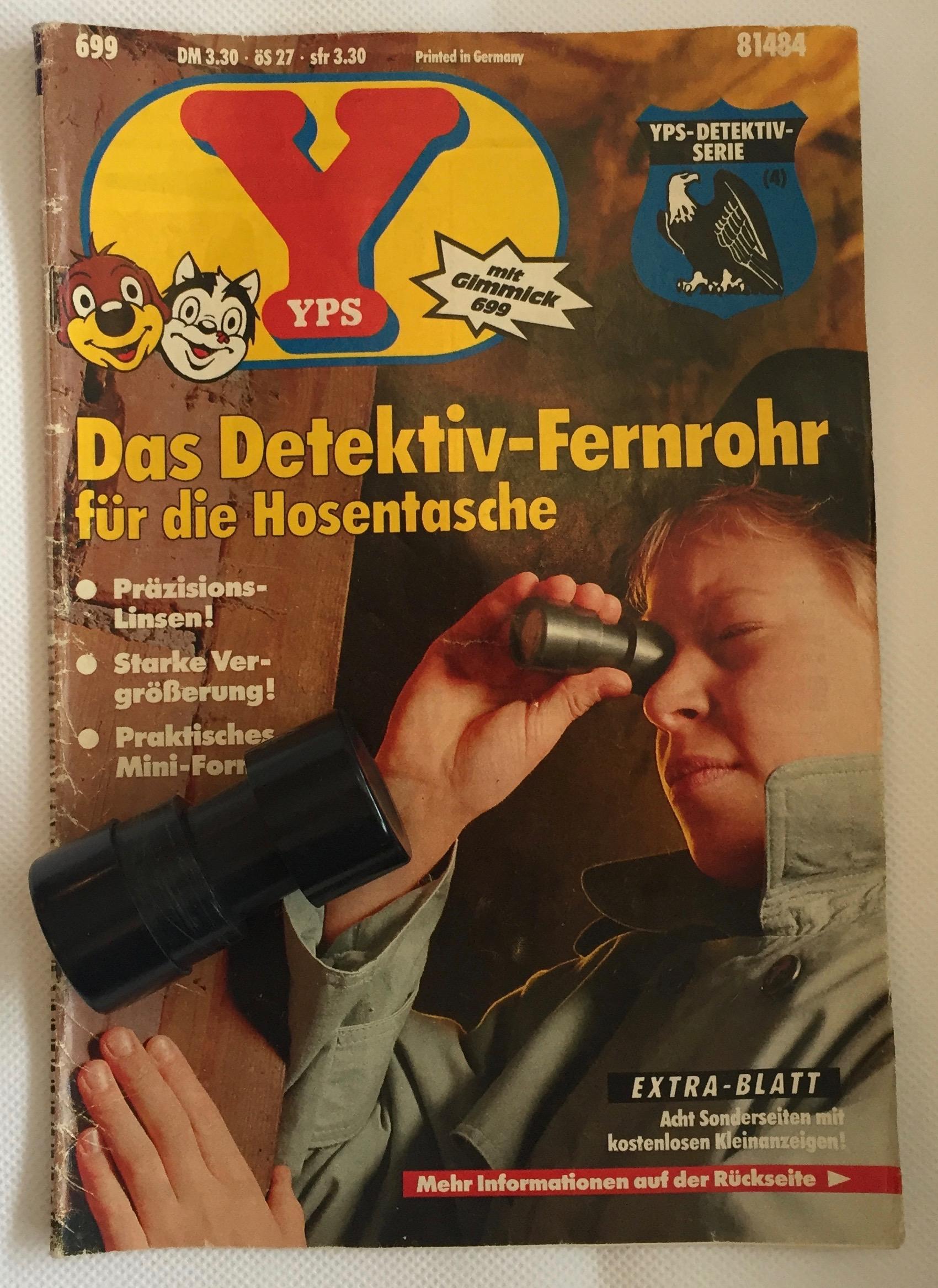 YPS_0699+Das+Detektiv-Fernrohr+fu$CC$88r+die+Hosentasche+-+Retroport