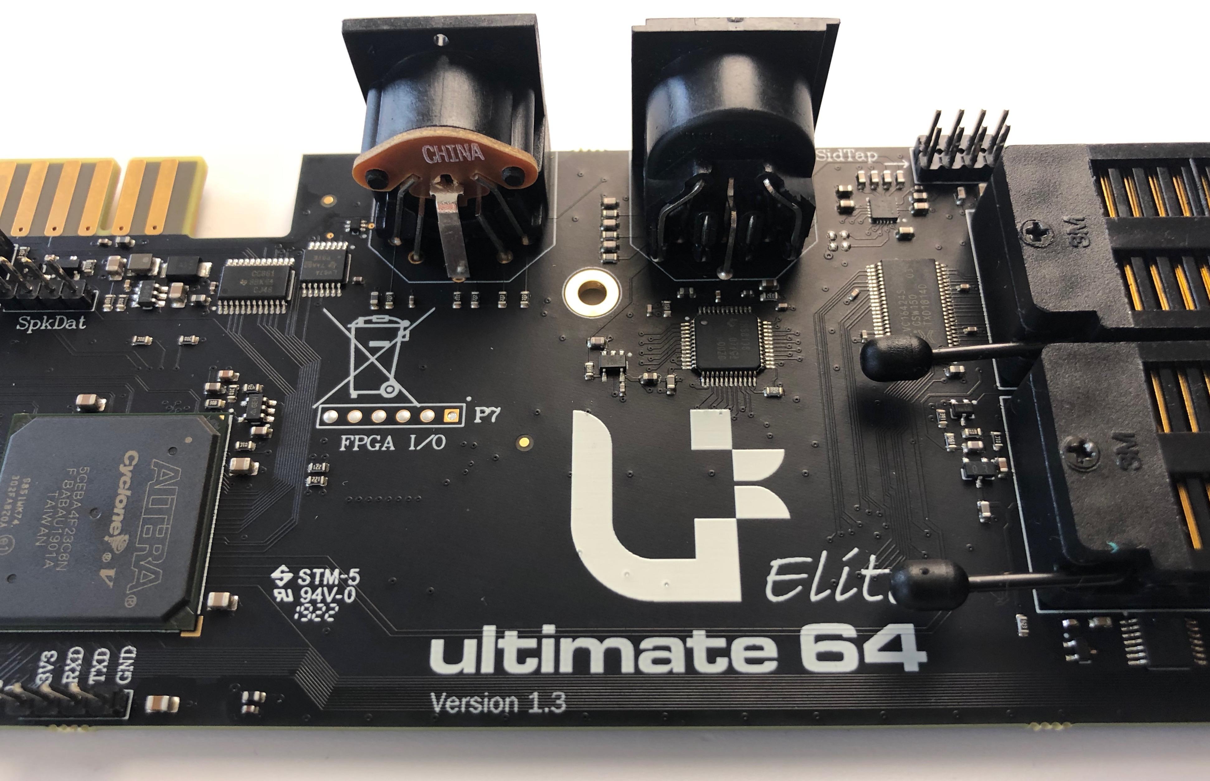 Ultimate 64, Ultimate 64 Elite – Commodore